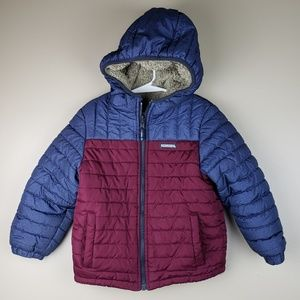 EUC OshKosh B'Gosh Boys Reversible Puffer Coat, 5